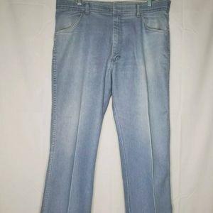 W Sz 18, Wrangler Light Blue Jeans - J306